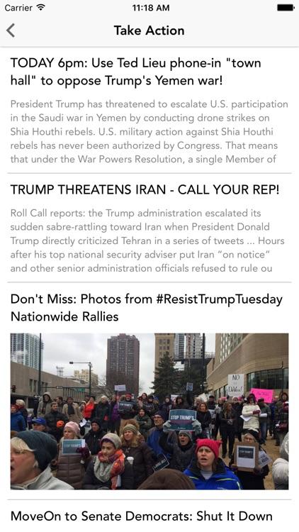 All Voices: Progressive News screenshot-4