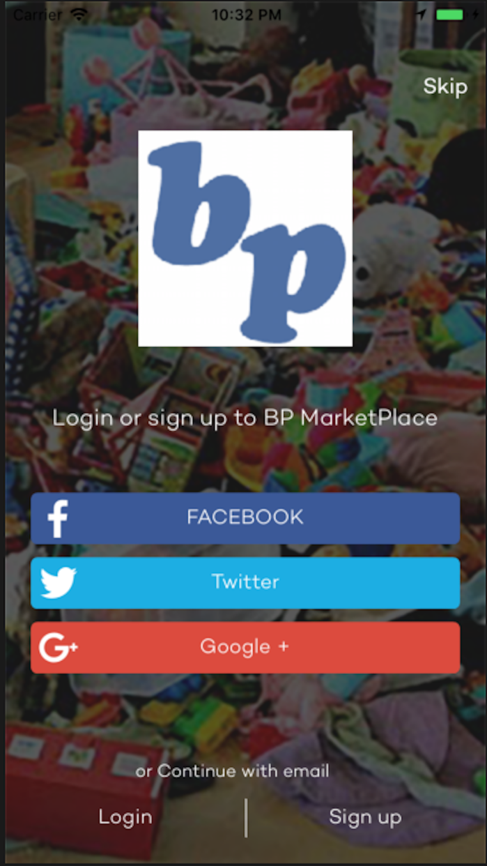 BP MarketPlace Screenshot