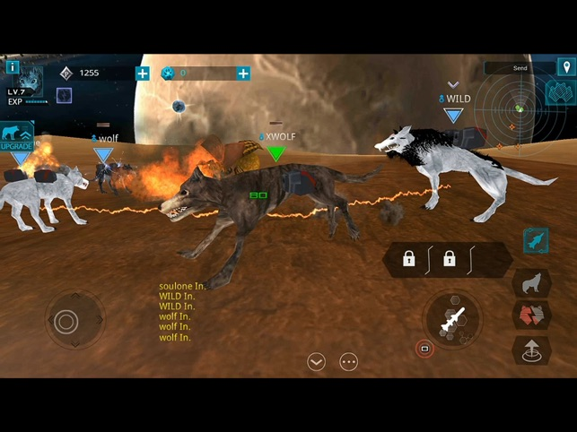 X-Wolf Online released for iOS - SF Adventure Animal Game Image