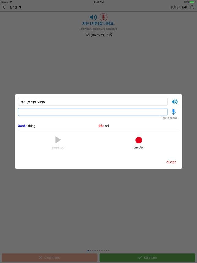 Tiếng Hàn Giao Tiếp