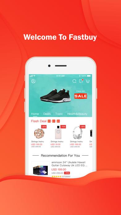 Fastbuy – shopping change life screenshot one