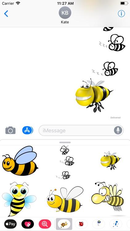 Honeybee Sticker Pack screenshot-7