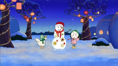 Sarah & Duck: Build a Snowman screenshot 5