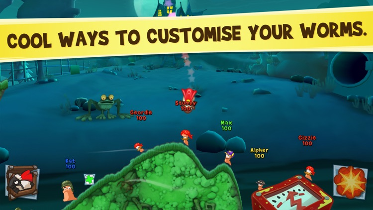 Worms3 screenshot-4