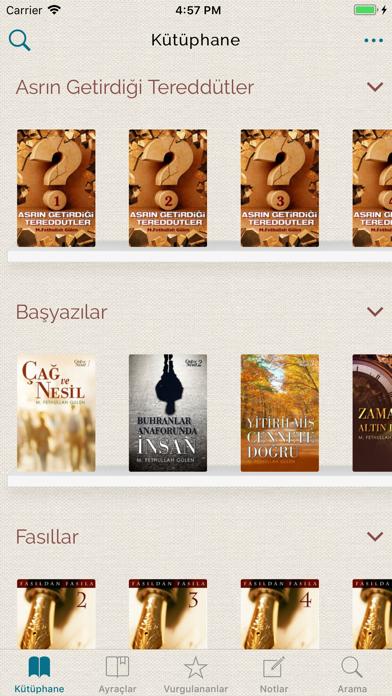 Fethullah Gülen Kitaplığı screenshot two