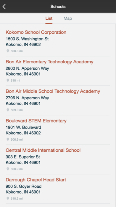 Kokomo School Corporation screenshot 2