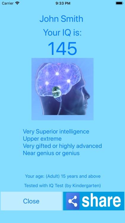 IQ TEST - WHAT IS YOUR WISDOM? screenshot-9