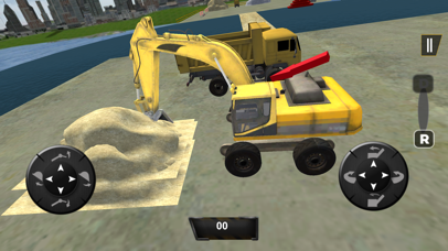 Real City Road River Bridge Construction Game screenshot four