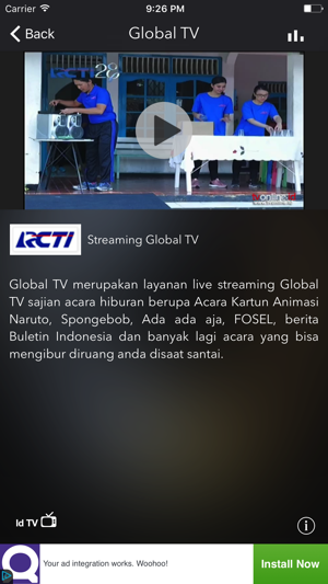 Tv online indonesia live streaming tv gratis on the app store tv online indonesia live streaming tv gratis on the app store stopboris Gallery