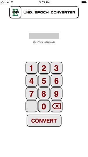 Unix Epoch Converter on the App Store