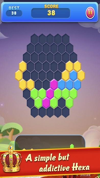 Hexa Match Quest Fun screenshot one