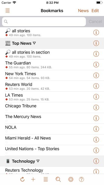 Speak News - RSS news reader screenshot-0