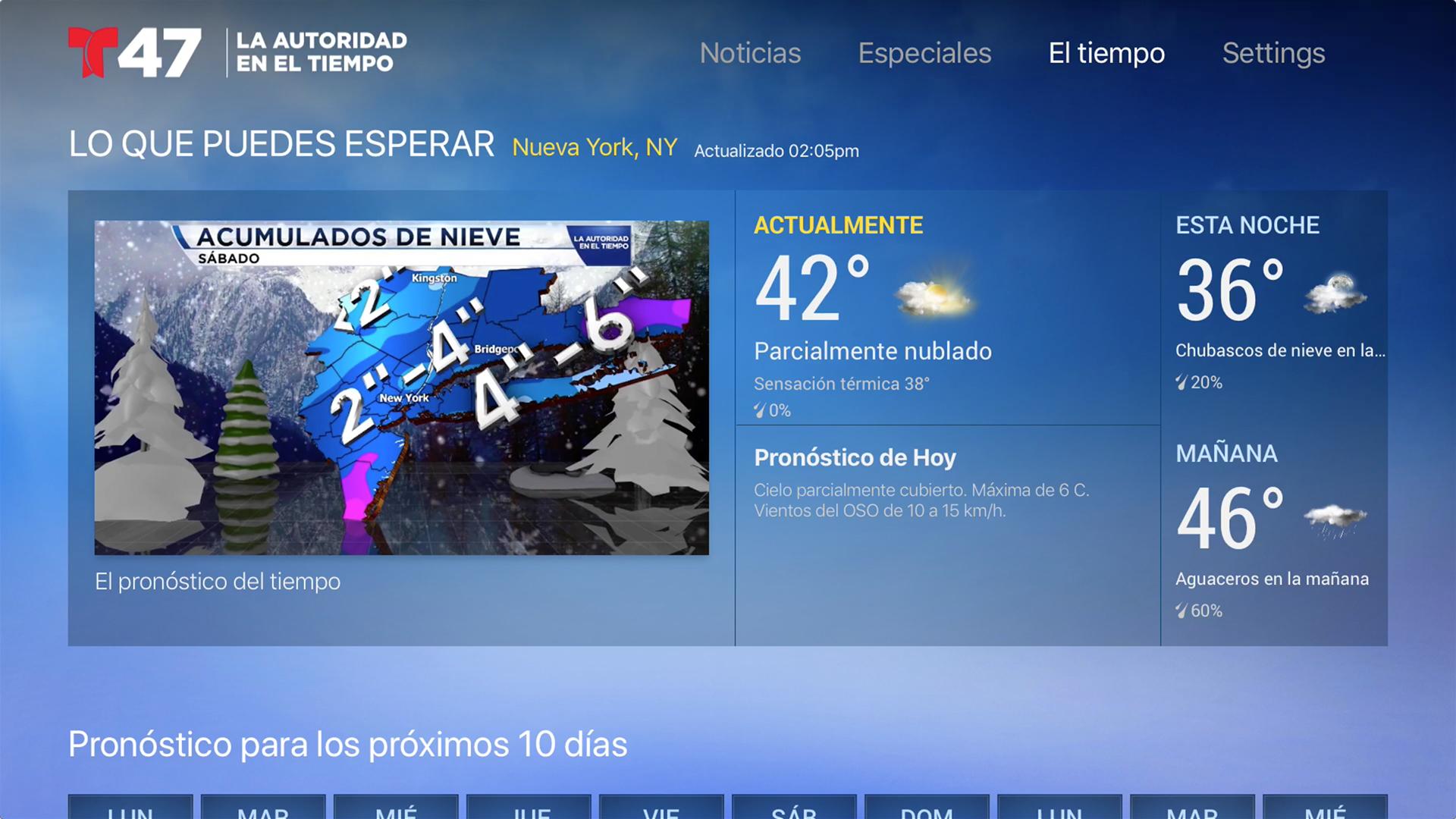 Telemundo 47 screenshot 17