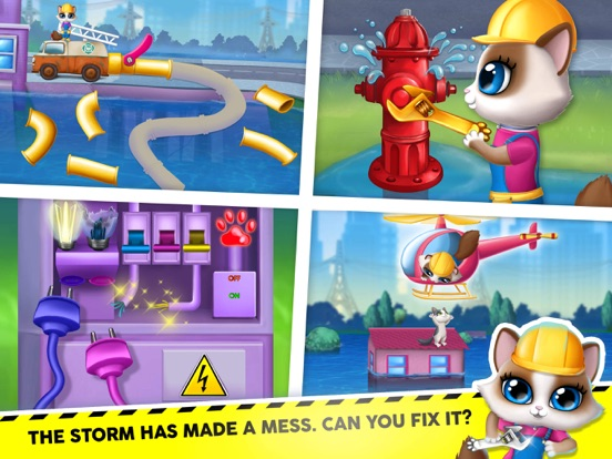 Kitty Meow Meow City Heroes screenshot 13