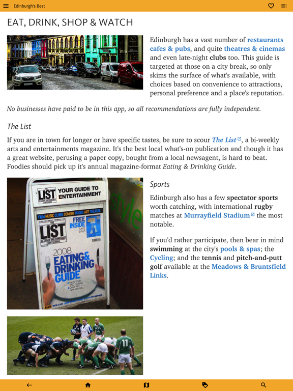 Edinburgh's Best: Travel Guide screenshot 18