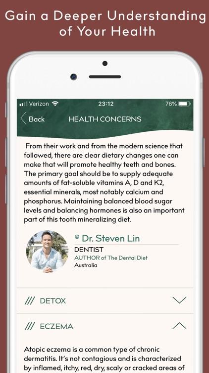 COOK + CURE | Food is Medicine screenshot-9