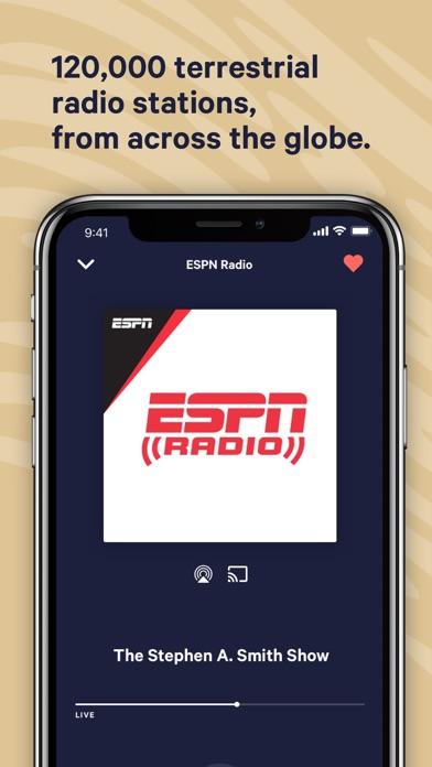 TuneIn: NFL, Radio & Podcasts app image