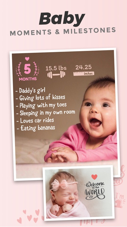 Adorable - Baby Photo Editor
