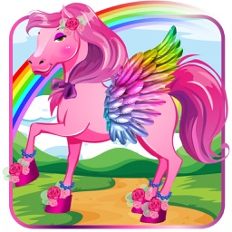 Princess Sparkle:Land Of Magic Pony Dressup Game