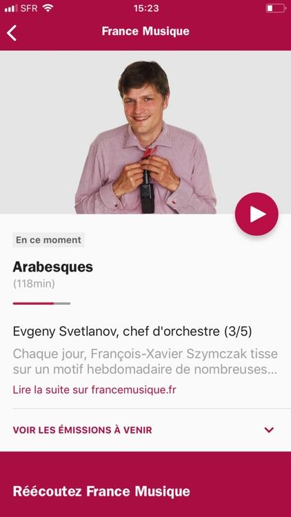 Radio France - direct/réécoute screenshot-8