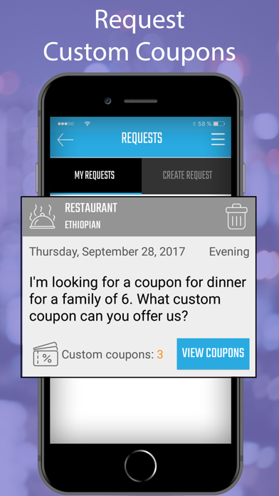 My Custom Coupon screenshot