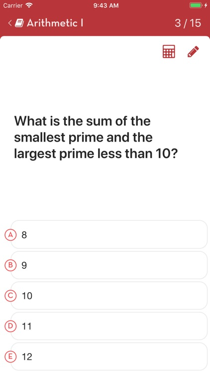 ACT Math: Practice Questions screenshot-3