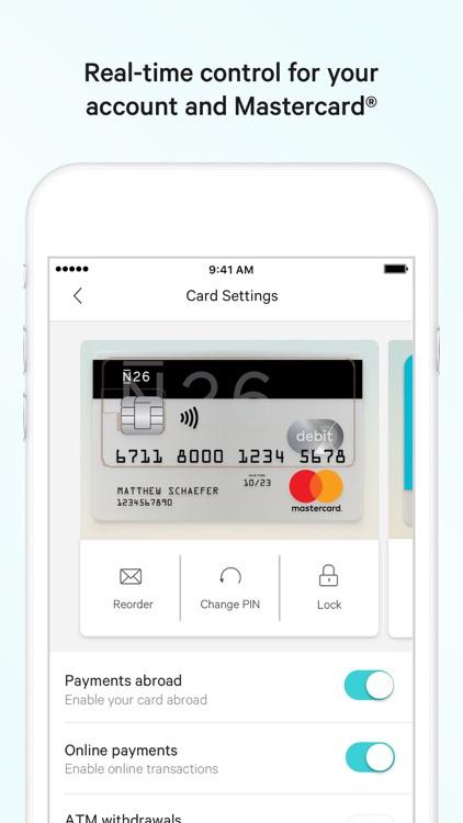 N26 – The Mobile Bank screenshot-3