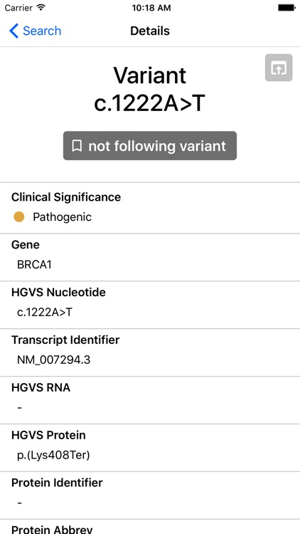 BRCA Exchange screenshot-3