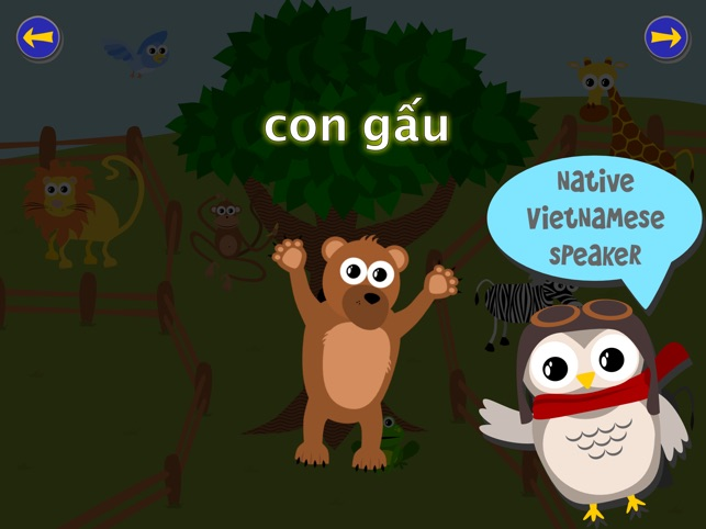 Gus on the Go: Tiếng Việt