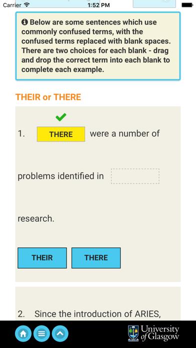 ARIES: English Academic Style screenshot three