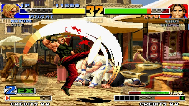 the king of fighters 98 をapp storeで