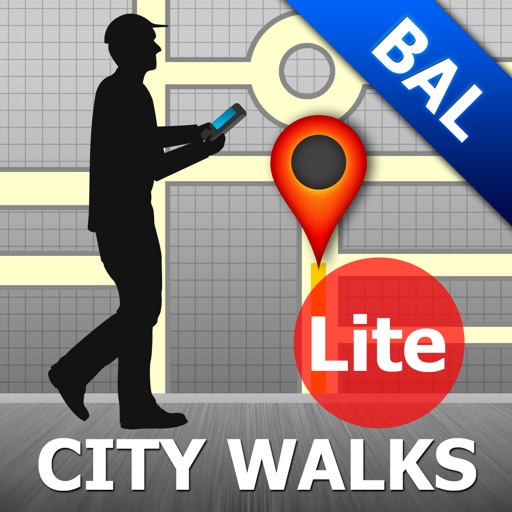 Baltimore Map and Walks