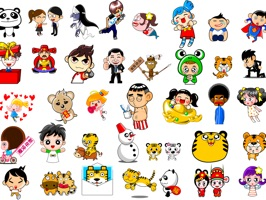Send stickers in your reply, peel and place them anywhere in your conversations: on bubbles, images, and even on other stickers