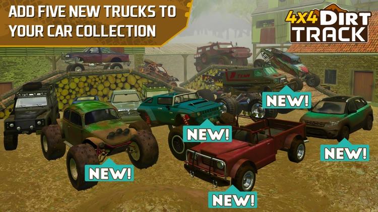 4x4 Dirt Track Forest Driving screenshot-0