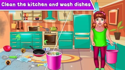 Baby Girl Home Cleaning screenshot 4