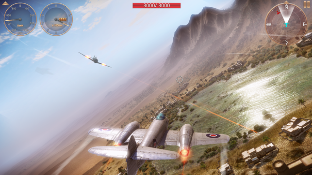 ‎Sky Gamblers - Storm Raiders 2 Screenshot
