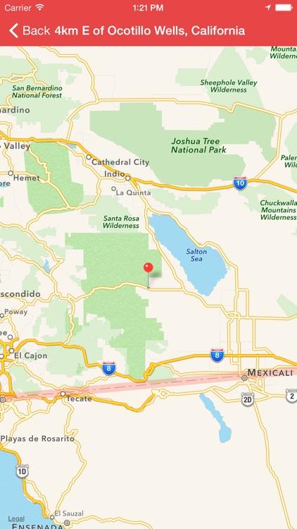 My Earthquake Alerts Pro screenshot-3