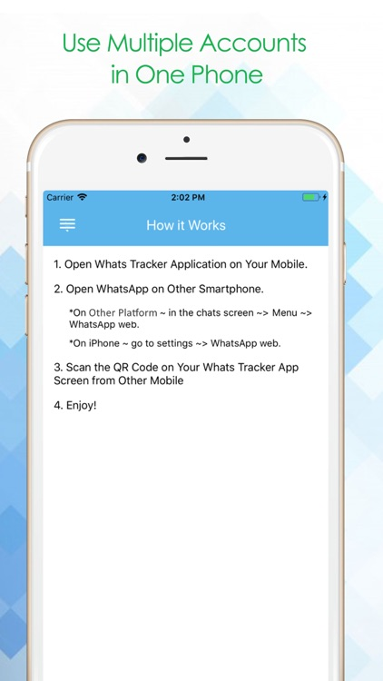 Whats Tracker by Vivek Warde