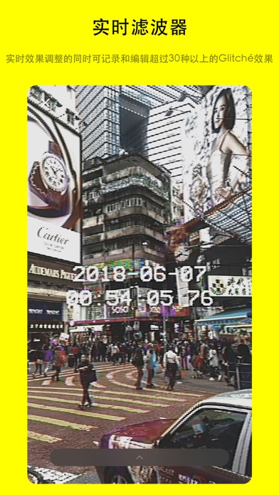 Screenshot for Glitché - Photo & Video Editor in China App Store