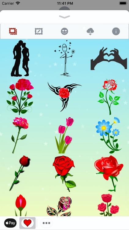 I Love You • Stickers & Emoji screenshot-6
