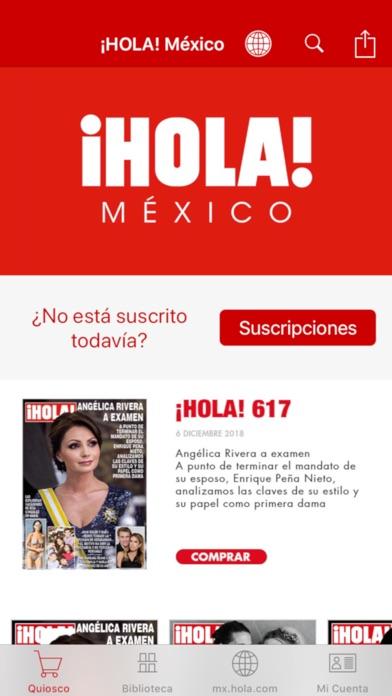 ¡HOLA! México Screenshot on iOS