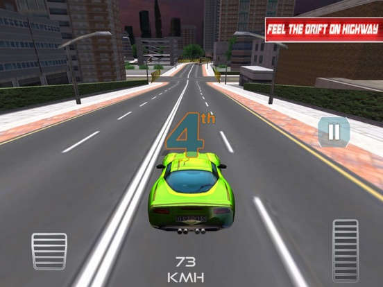 Racing Car:Smart City 2018 screenshot 4