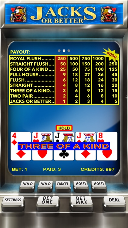 Video Poker Casino - Card Game screenshot-1