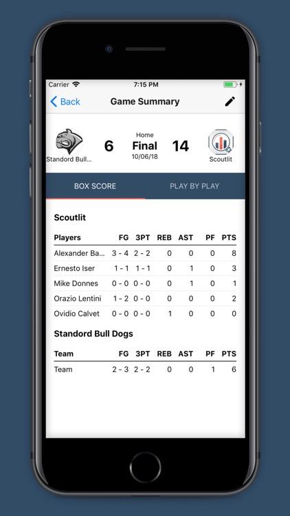 Basketball Stat Tracking screenshot-4