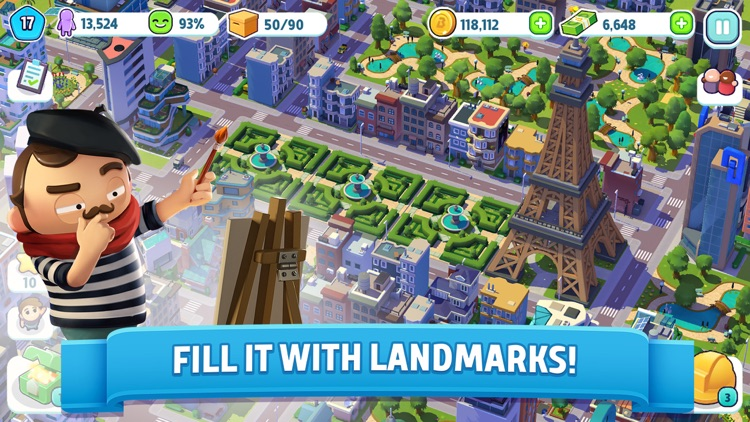 City Mania: Town Building Game screenshot-4