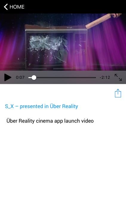Über Reality Cinema screenshot-3