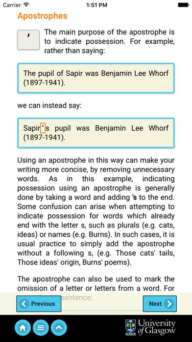 ARIES: English Academic Style screenshot two
