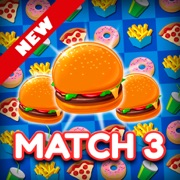 Super Burger Match 3 Challenge