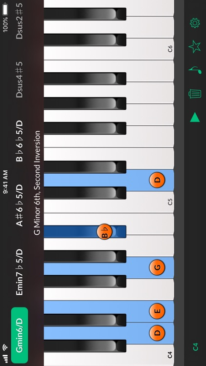 Reverse Chord Finder Pro screenshot-1