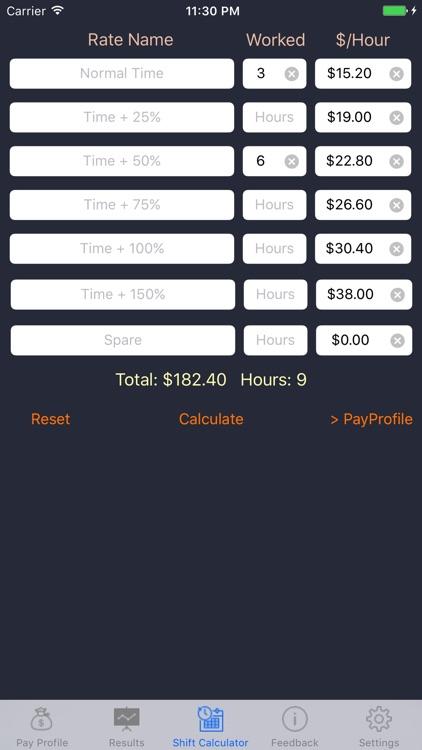 Aus Pay Calculator